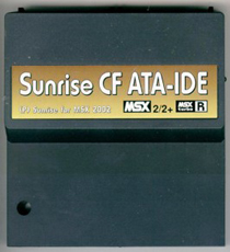 Sunrise Compact Flash ATA-IDE interface