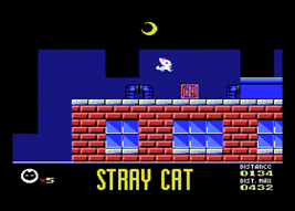 MSX Stray Cat screenshot